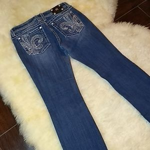 Miss Me Jeans Size 32/33 Boot Cut